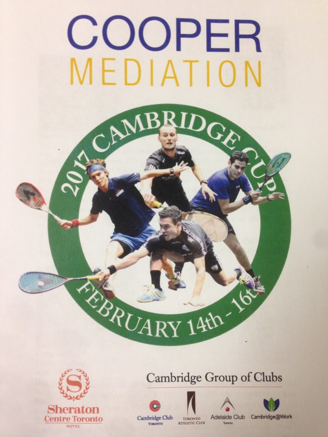 Cooper Mediation - Cambridge Cup 2017